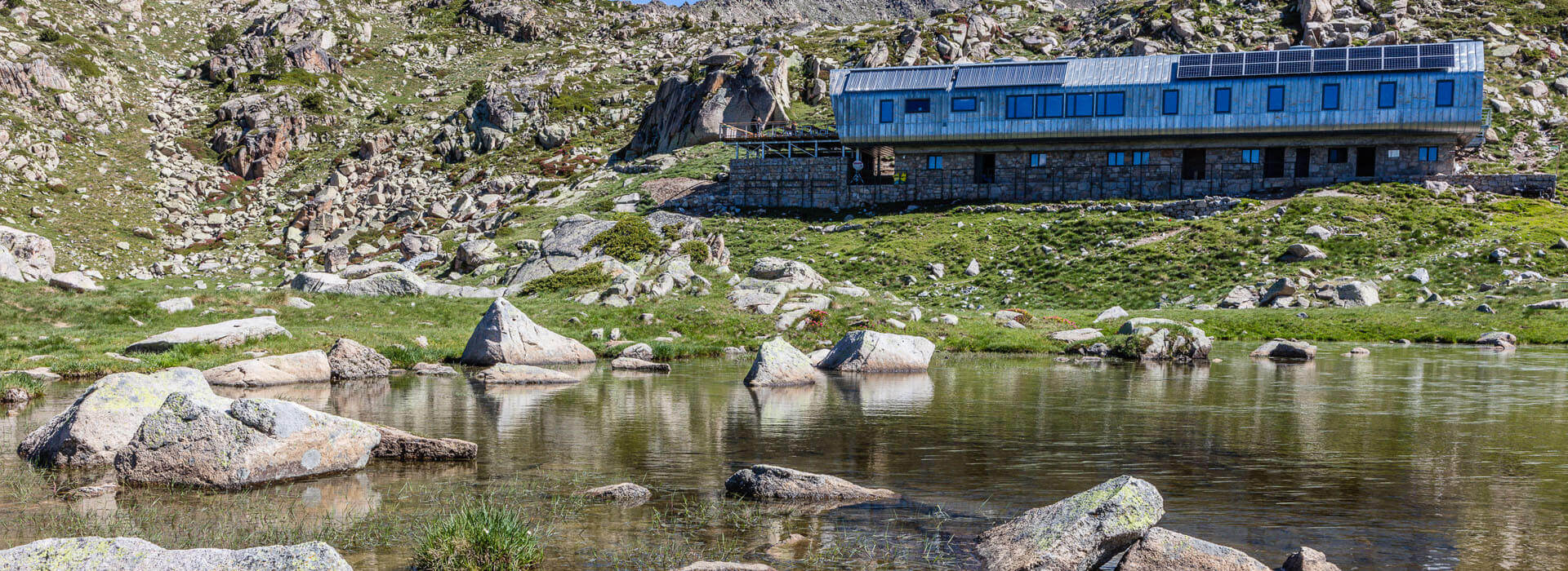 Refuge of the Illa Grandvalira Andorra